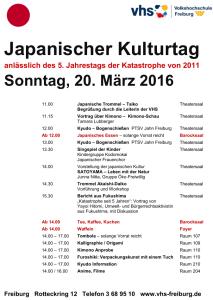 Japanischer Kulturtag 2016