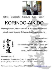 Korindo Aikido Anfängerkurs
