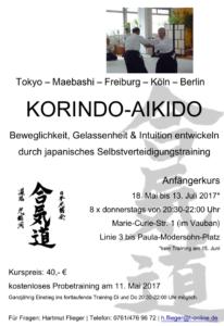 Einsteigerkurs Korindo Aikido
