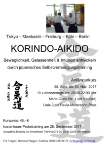 Aikido September 2017
