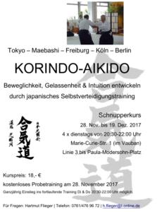 Korindo-Aikdo Schnupperkurs November2017