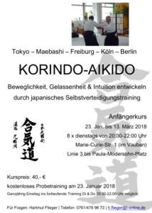 Korindo Aikido Januar 2018