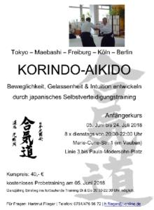 Korindo Aikido Juni 2018
