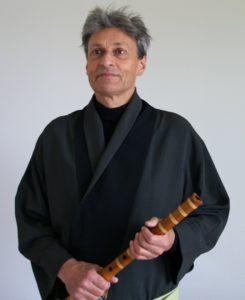 Ueli Fuyûru Derendinger, Meister der Shakuhachi