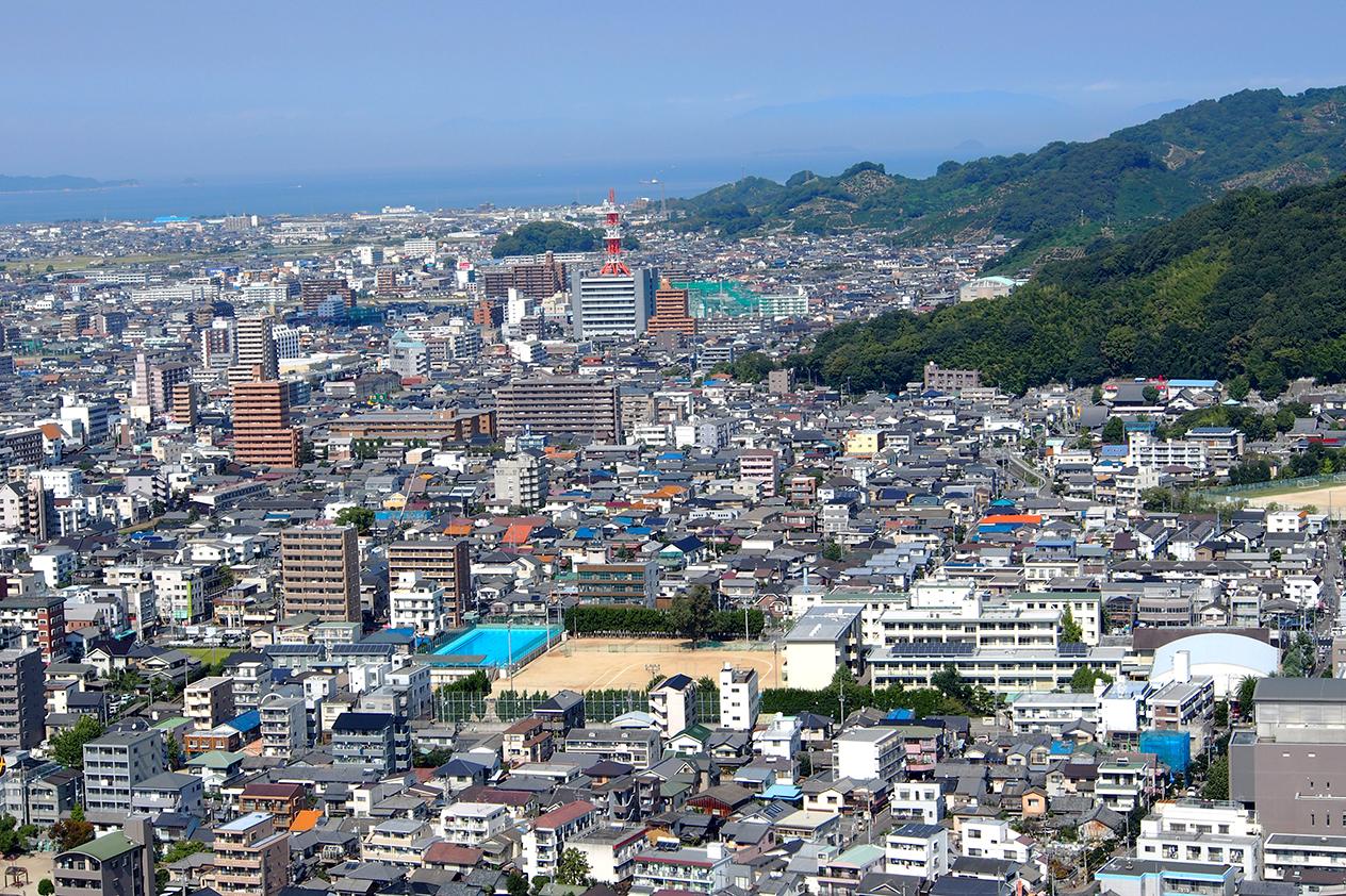Stadtansicht Matsuyama