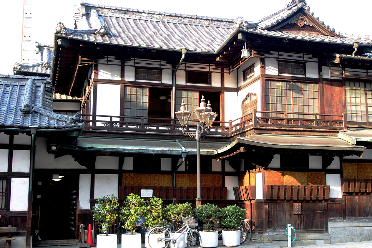 Traditionelle Häuser in Matsuyama