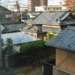 Traditionelle Häuser in Matsuyama