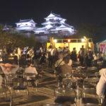 Die Burg in Matsuyama